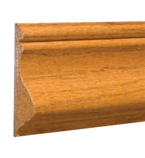 "916"" X 258"" X 8' Prefinished Golden Oak Chair Rail At"