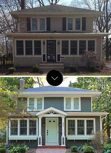 Before & After Brienna's Curb Appeal Makeover Design*sponge