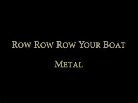 Row Row Row Your Boat Lyrics Download by Row Your Boat Remix Mp3 Download Elitevevo