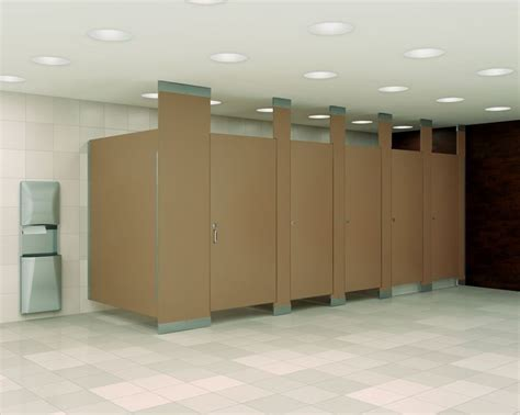 the most popular material choices for stall dividers for commercial partitions for industrial