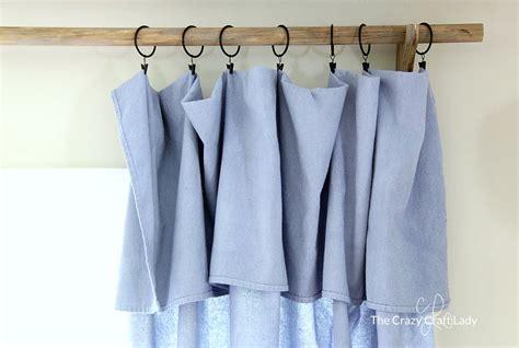 Diy No-sew Drop Cloth Curtains +a Cheap Diy Curtain Rod