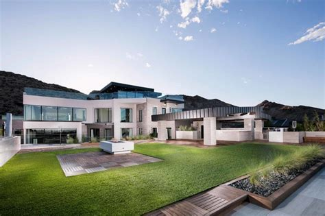 modern multi million dollar home modern exterior las vegas by shay velich architectural