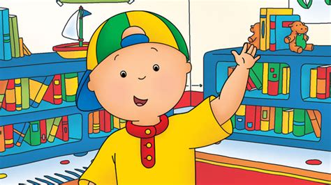 Caillou's Big Stomach