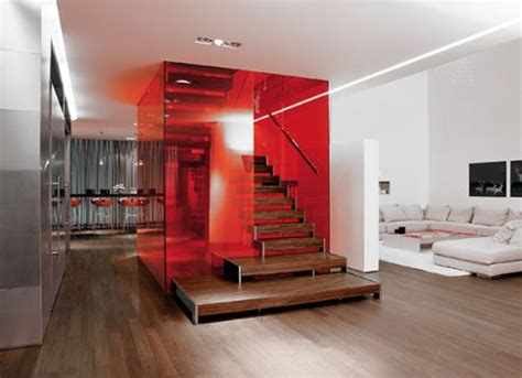 Colored Acrylic Partition