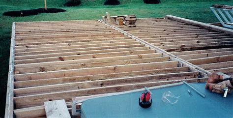 Deck Joist Hangers Or Not by Jpsdomain Org Plastic Deck Pictures