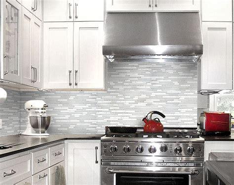 Grey Kitchen Backsplash Glass Tiles  Home Design Ideas