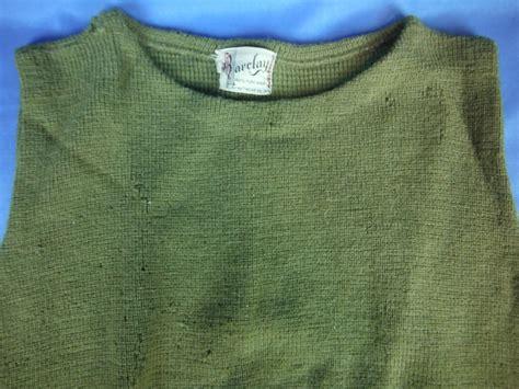 Uwu-0123 Wwii Era Us Army Wool Sweater Vest