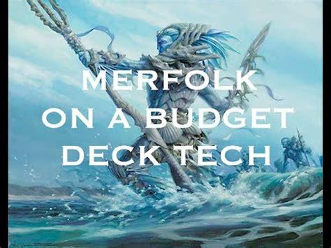 mtg budget modern merfolk deck tech