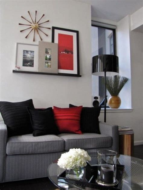 17 best ideas about black living rooms on