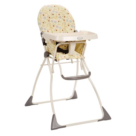 cosco safari in africa flat fold high chair