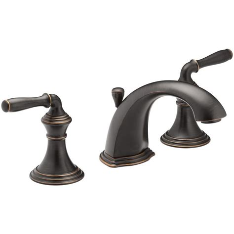 shop kohler devonshire rubbed bronze 2 handle