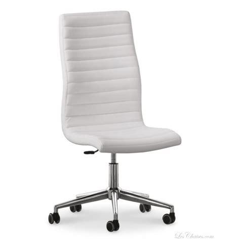chaise de bureau design blanc le monde de l 233 a