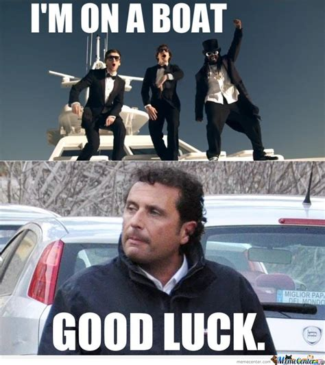 Boat Dog Captions by I M On A Boat By Serkan Meme Center
