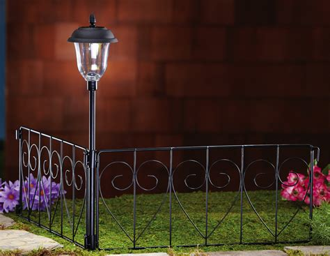 Decorative Scroll Corner Garden Border Fence With Solar Home Box Office Best Theater Projector 2015 At Supplies L Shaped Desks Ikea Ideas Ryan Homes Corporate