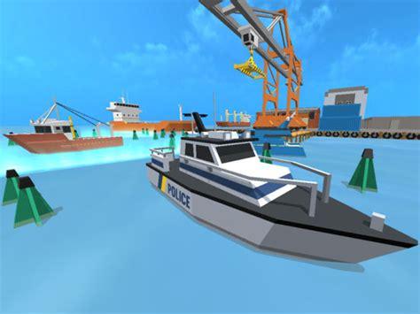 Boat Docking Simulator Ipad by App Shopper Super Police Boat Parking Docking Fastlane