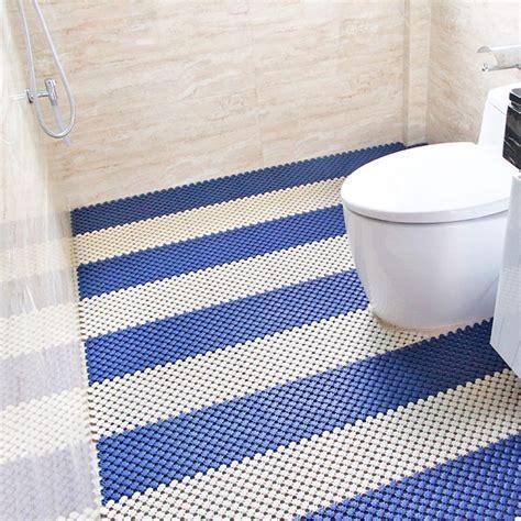 mosaic bathroom floor mats non slip toilet mat impermeable