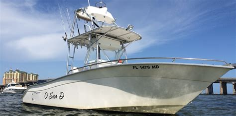 Deep Sea Boats by Destin Shark Charters Deep Sea Fishing O Sea D Charters