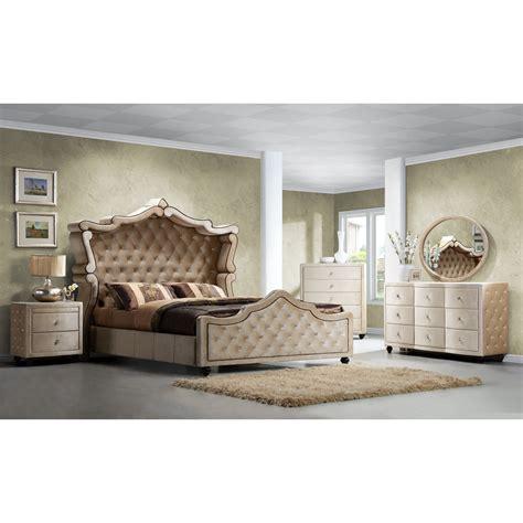Meridian Furniture USA Diamond Panel Customizable Bedroom