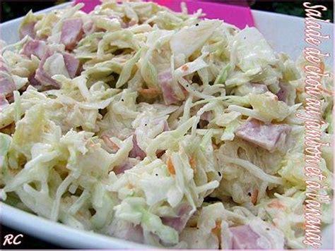 salade de chou au jambon et 224 l ananas paperblog