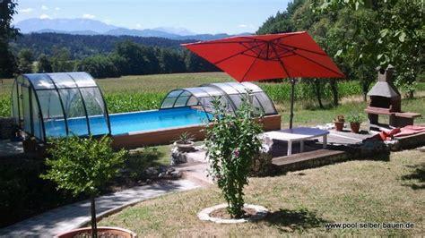 Pool Im Garten Selber Bauen Anleitung Poolbau Pool
