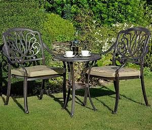 Gartenmöbel Aus Italien : hartman bistro tisch 61cm rund amalfi bronze alu gu art jardin ~ Markanthonyermac.com Haus und Dekorationen