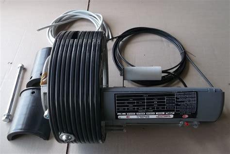 moteur central 240 mm pour rideau metallique 170 kg