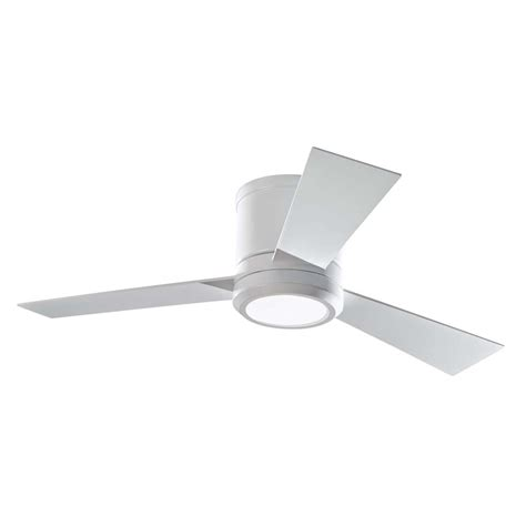 Outdoor Ceiling Fans With Uplights by Shop Monte Carlo Fan Company Clarity 42 In Rubberized