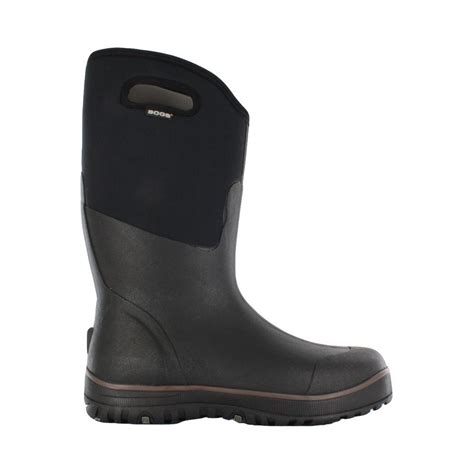 Rubber Boots Home Depot by Bogs Classic Ultra High Men 15 In Size 12 Black Rubber