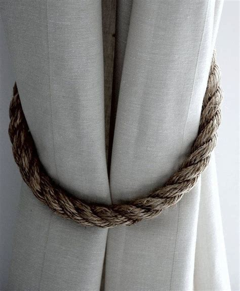 1000 ideas about curtain ties on curtain tie backs curtains and burlap curtains