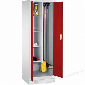 Möbel Aus Metall : cp m bel mehrzweckschrank metall s 2000 rot 81cm b ttcher ag ~ Markanthonyermac.com Haus und Dekorationen