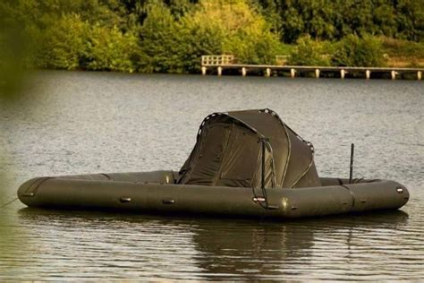 Inflatable Carp Fishing Boats by Off The Grid Fishing Boat Is Built For Cing Curbed