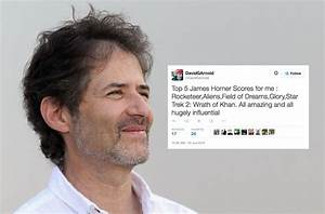 David Arnold on James Horner - The film and music world ...