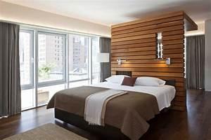 Vorhang über Bett : raumteiler f r schlafzimmer 31 ideen zur abgrenzung ~ Markanthonyermac.com Haus und Dekorationen