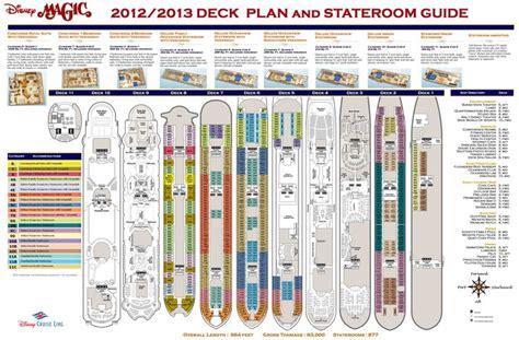 disney magic ship layout disney cruise