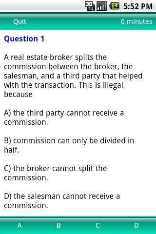 Test Review Real Estate Exam  Android Apps On Google Play
