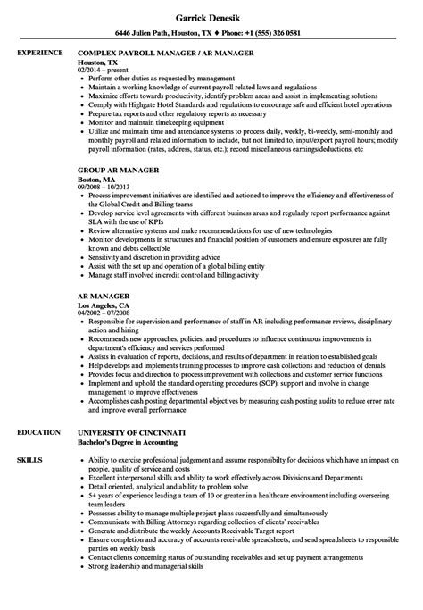 Ar Manager Resume Samples  Velvet Jobs. Resume Song. Dog Walker Resume. Skills Of Teachers For Resume. Generic Objective For Resume. Back Office Medical Assistant Resume. Top Resume Writing Services. Pay Someone To Write Resume. How To Write A Cv Resume