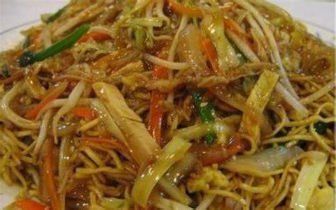 nouilles chinoise au poulet choux chinois et curry