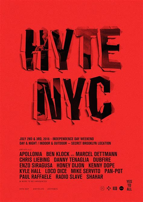 Lee Foss Boat Party Nyc by Preview Hyte Nyc 2016 July 2nd 3rd 2016 Edmnyc