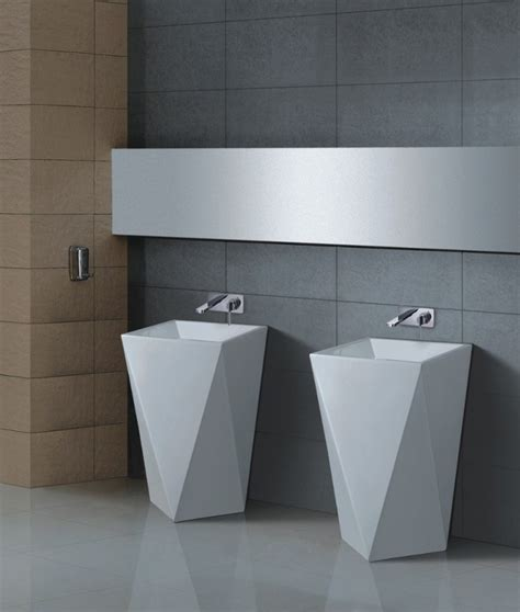 Maccione Ii  Modern Pedestal Sink
