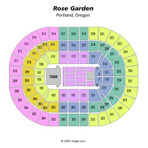 Garden Portland Concert Schedule quarter seating chart quarter moda center
