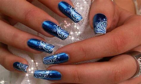 Top Blue Nail Art Designs To Suit Your Blue Costumes