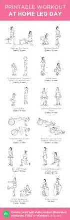 12 at home leg day workout for