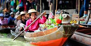 Experience Bangkok's floating markets   Thailand day tours ...