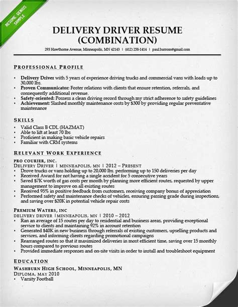 Truck Driver Resume Sample And Tips  Resume Genius. How To Format Resume. Strong Sales Resume Examples. How To Write Computer Knowledge In Resume. Investment Banking Resume Template. Do You Put High School On Resume. Some Good Career Objectives For Resume. Resume Service. Attorney Resume Sample