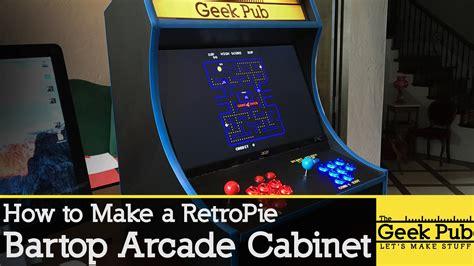 build a retropie bartop arcade cabinet with a raspberry pi raspberry pi piday raspberrypi