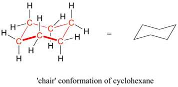 Chair Conformation Of Cyclohexane Ppt by 3 2 Conformations Of Cyclic Organic Molecules Chemistry