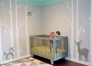Kinderzimmer Gestalten Baby : kinderzimmer ideen wald bibkunstschuur ~ Markanthonyermac.com Haus und Dekorationen