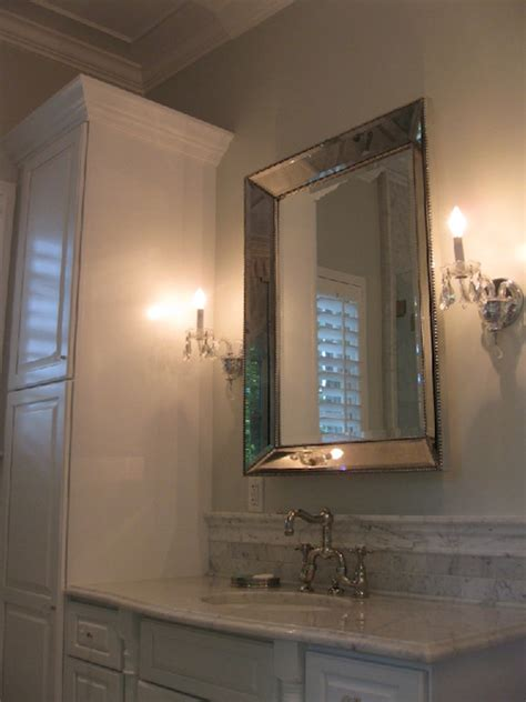 restoration hardware venetian beaded mirror transitional