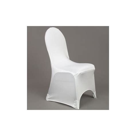 location mobilier de r 233 ception housse chaise blanche lycra