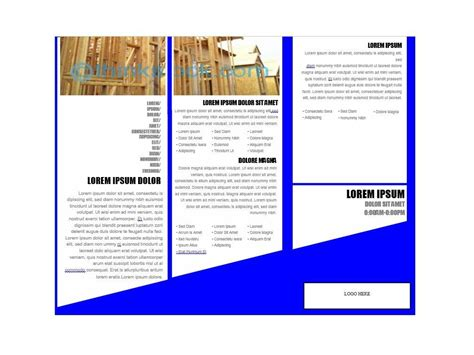 Brochute Template Free Download by 31 Free Brochure Templates Ms Word And Pdf Free